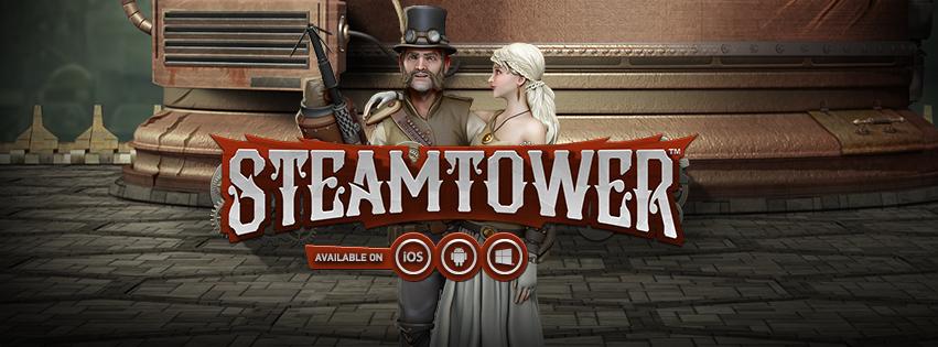 Игровой автомат Steam Tower от NetEnt — Играйте в интернете бесплатно