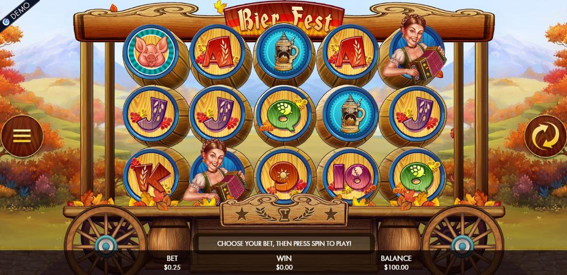 Bier Fest Slot - Genesis Gaming