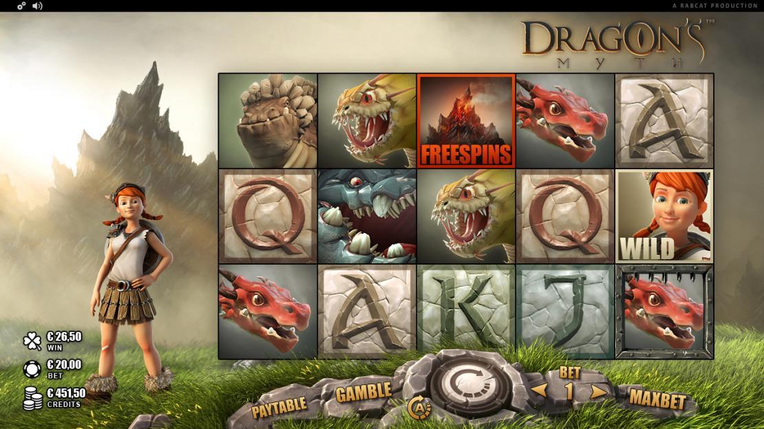 Dragon's Myth Rabcat