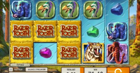 Razortooth Quickspin slot