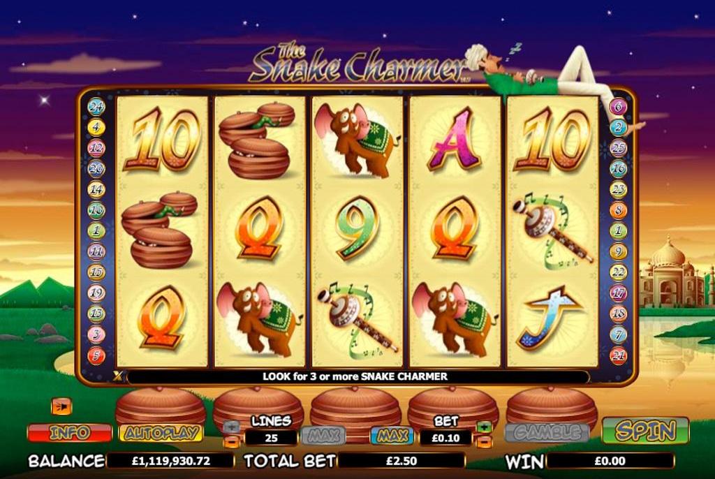 The Snake Charmer NextGen Gaming Slot