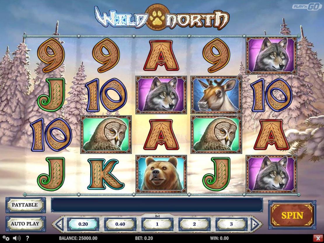 Wild North slot Play n GO