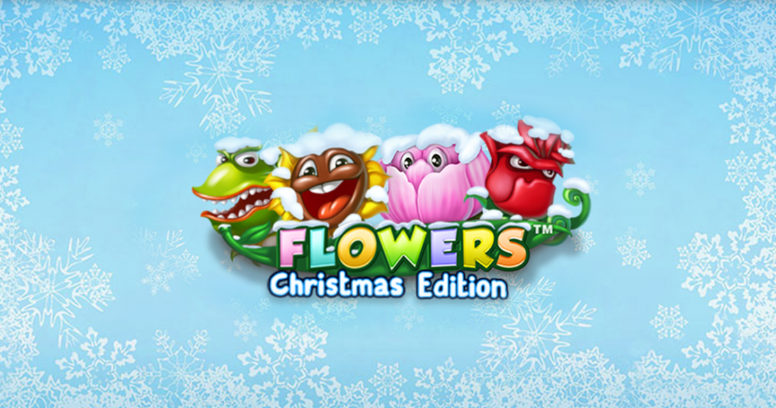 Flowers Christmas Edition slot from NetEnt