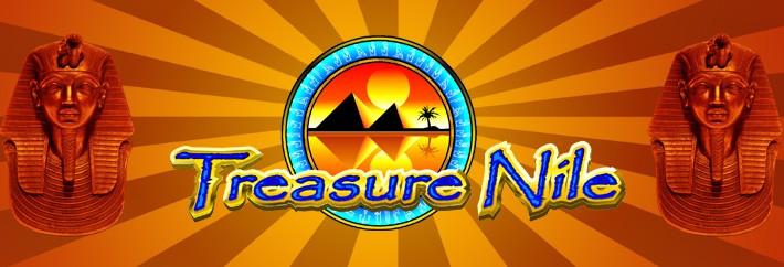 Treasure Nile slot from Microgaming