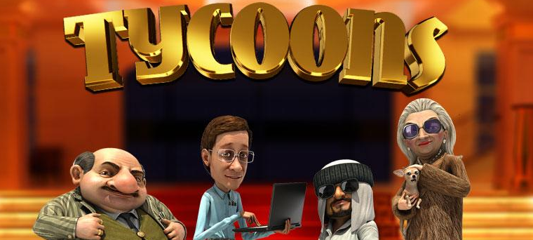 Tycoons 3D slot game by BetSoft Gaming