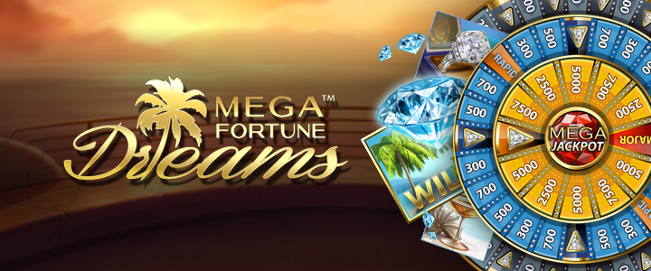 Mega Fortune Dreams slot by NetEnt