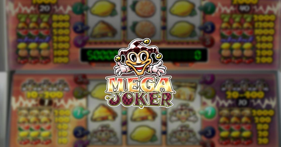 Mega Joker slot by Net Entertainment
