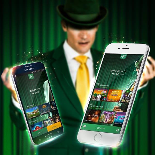 Mr Greens mobile apps