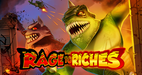 Rage to Riches - new slot from Play'n GO