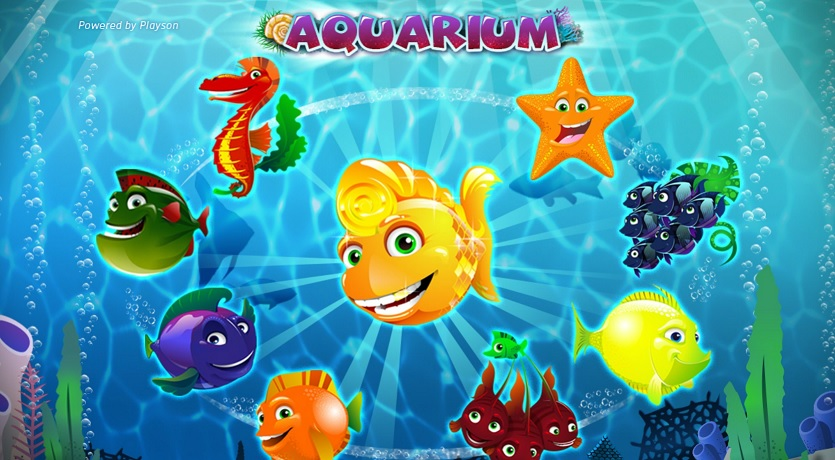 Aquarium slot by Playson