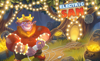 Electric SAM slot by ELK Studios