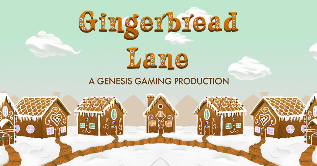 Gingerbread Lane slot by Genesis Gaming