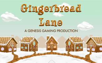 Gingerbread Lane slot by Genesis Gaming