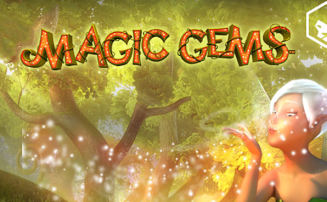 Magic Gems slot by Leander Games