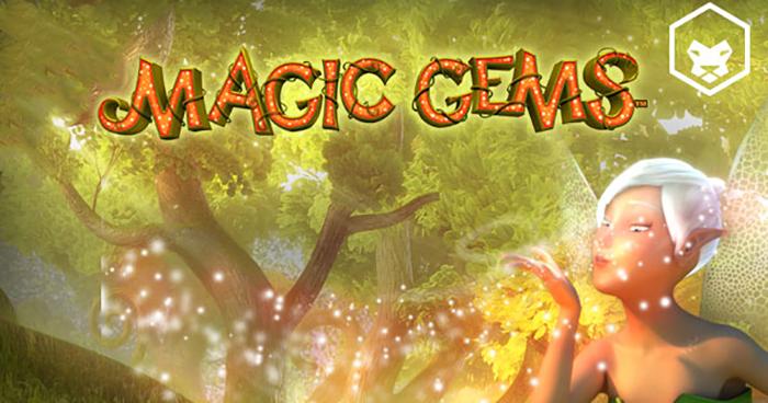 Magic Gems slot by Leander Games