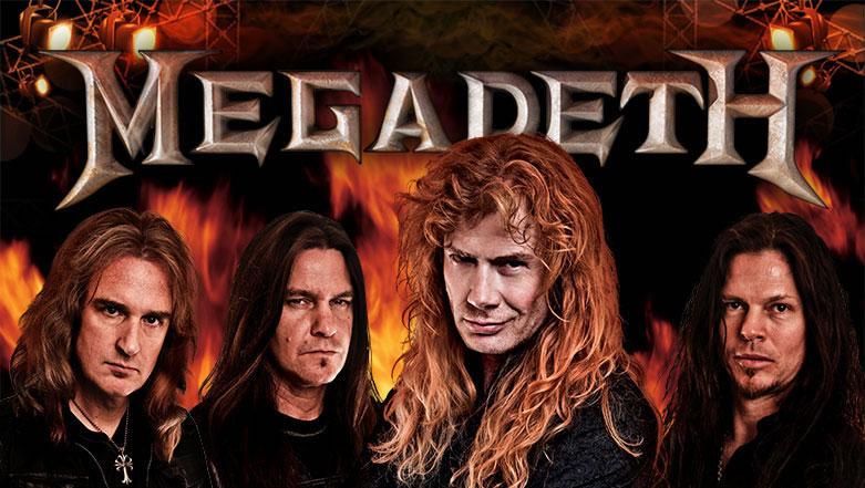 Megadeth slot by Leander Games