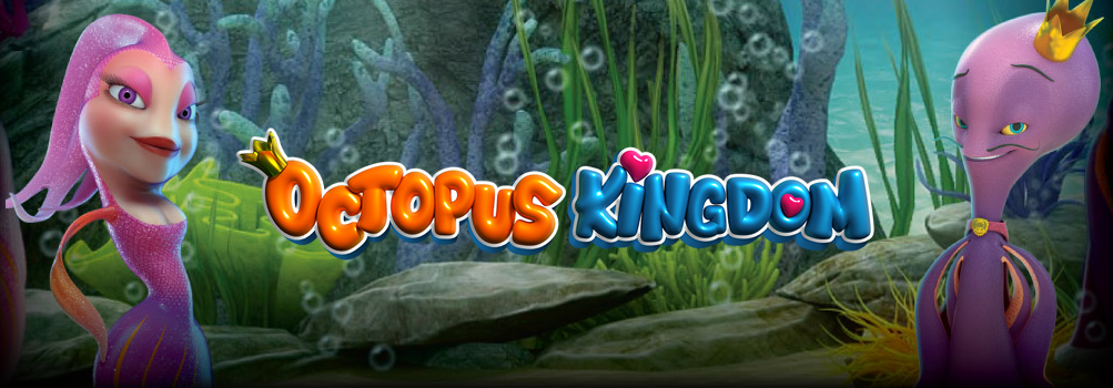 Octopus Kingdom slot by Leander Games