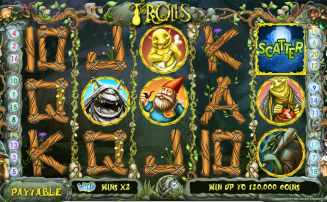 Trolls slot by NetEnt