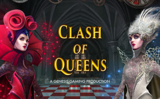 Clash of Queens slot from Genesis Gaming
