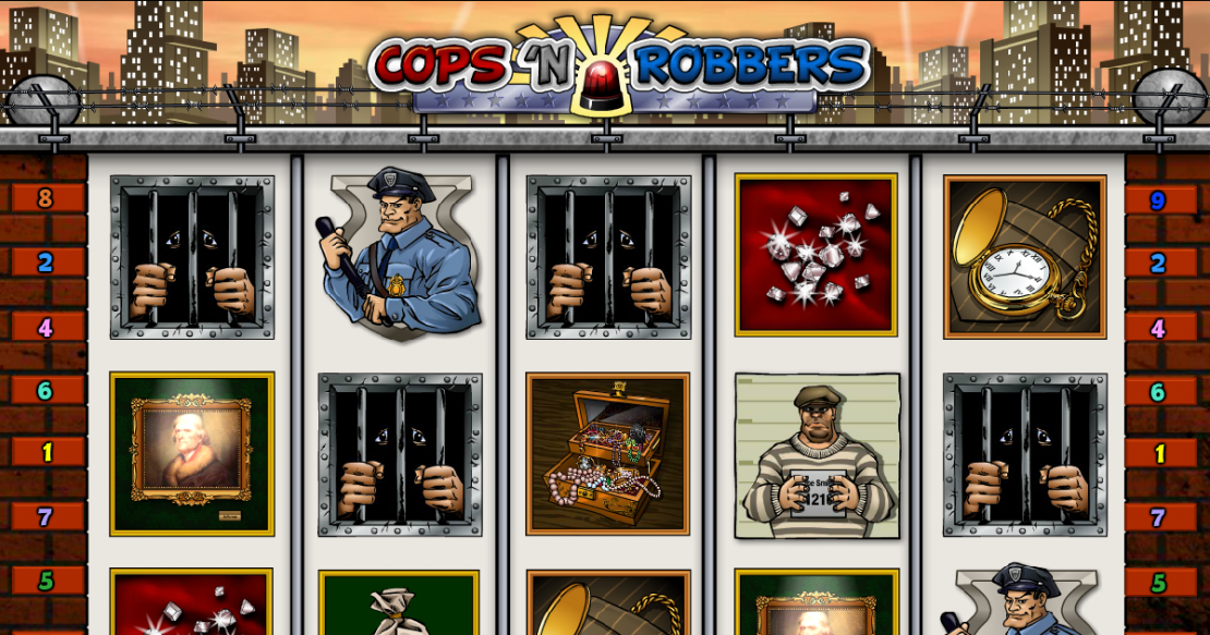 Cops n Robbers slot from Play'n GO