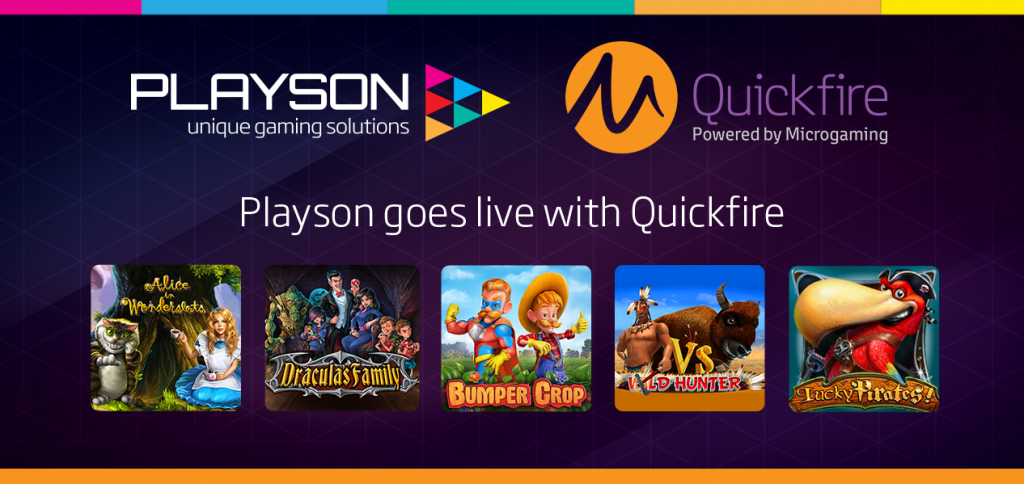 Playson goes live with Quickfire