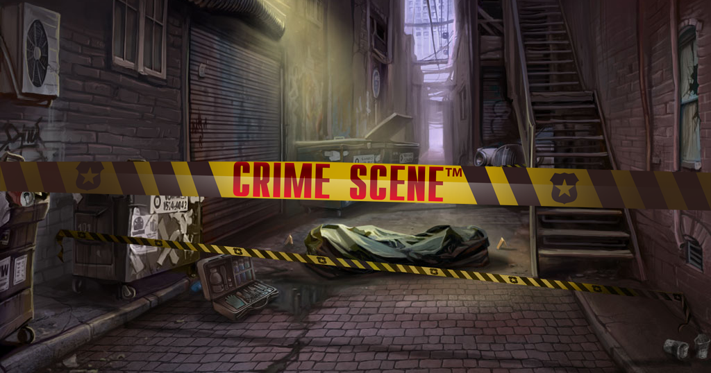 Crime Scene slot from Net Entertainment