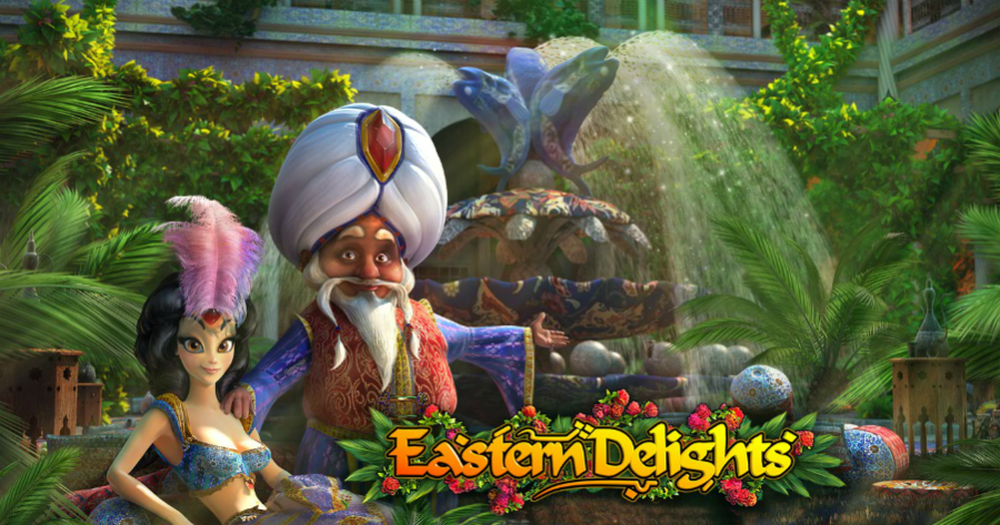 Eastern Delights slot from Playson