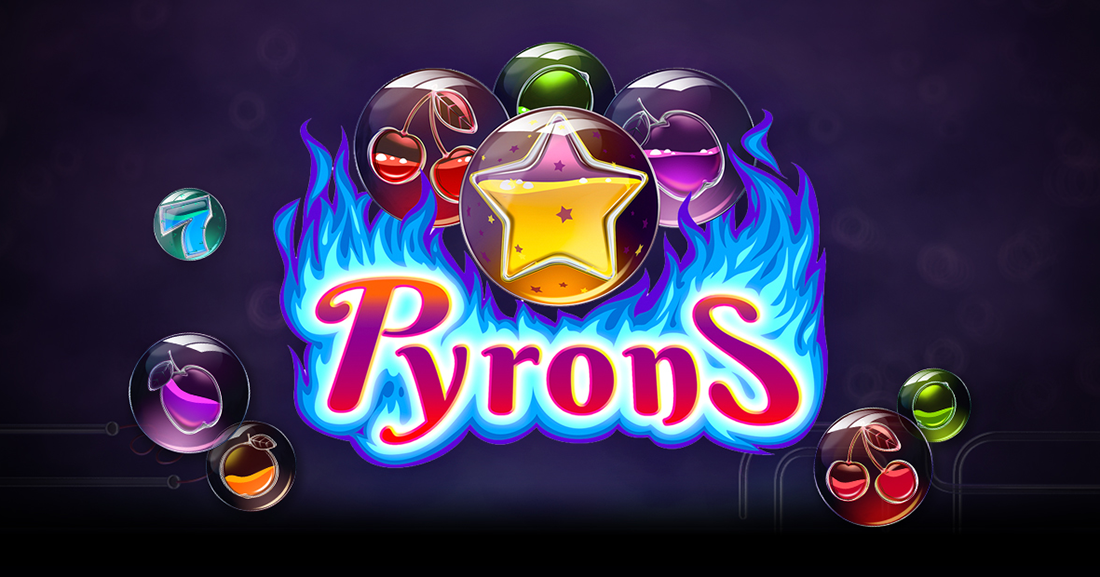 Pyrons slot from Yggdrasil Gaming