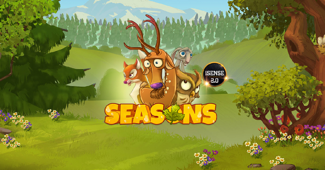 Seasons slot by Yggdrasil Gaming