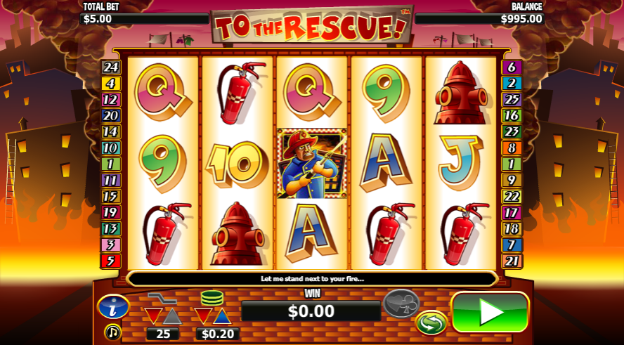 To the Rescue slot from Nextgen Gaming