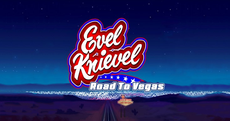 Evel Knievel: Road to Vegas slot from Core Gaming