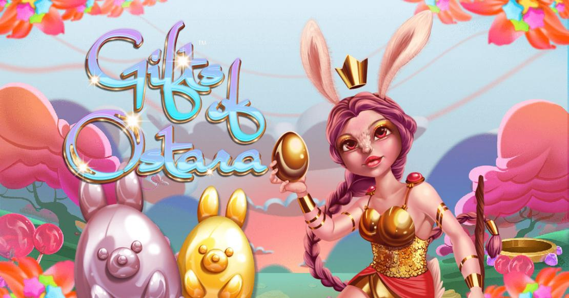 Gifts of Ostara slot from Iron Dog Studio