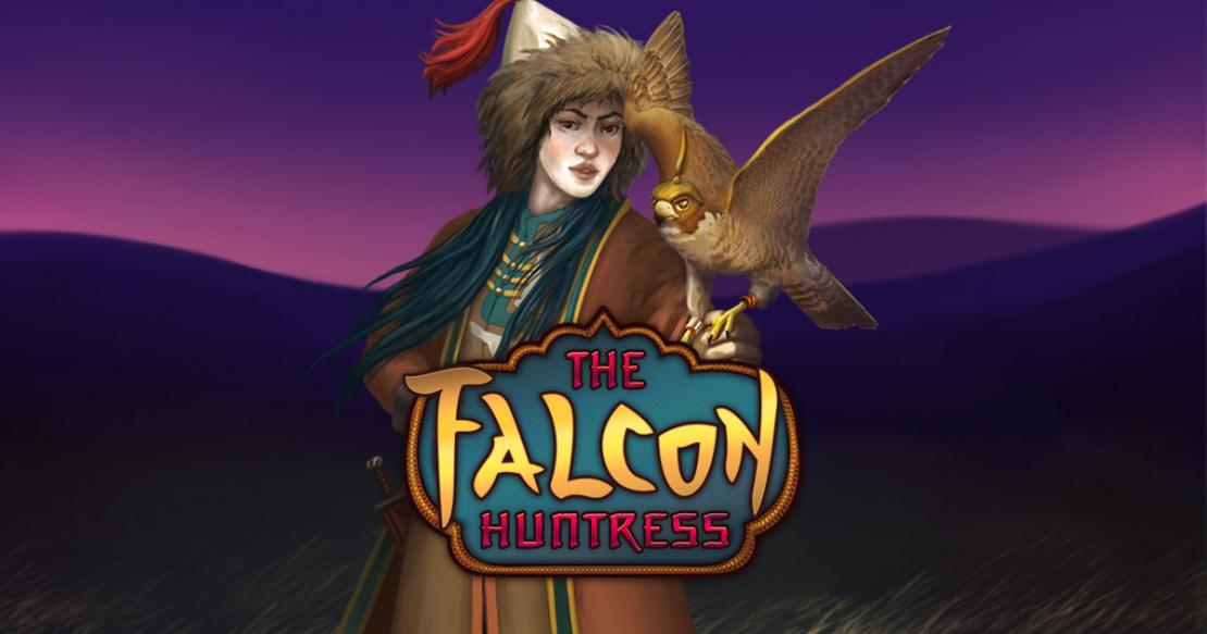 The Falcon Huntress slot from Thunderkick