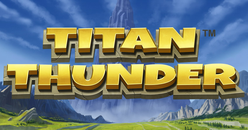 Titan Thunder slot from Quickspin