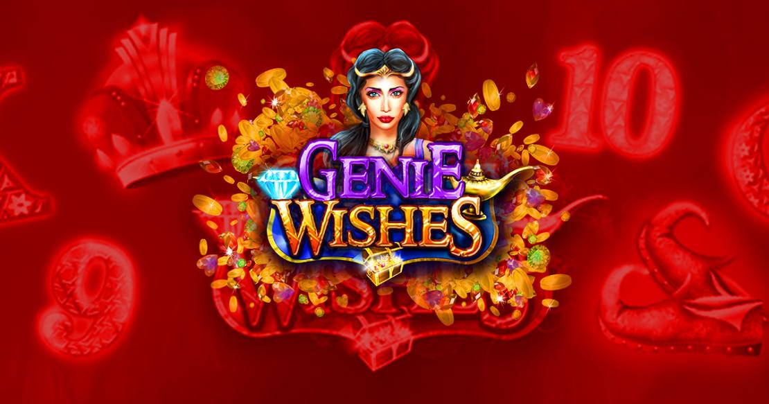 Genie Wishes slot from Booming Games