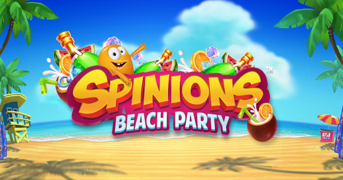 Spinions Beach Party slot from Quickspin