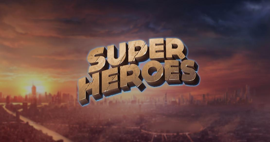 Super Heroes slot from Yggdrasil Gaming