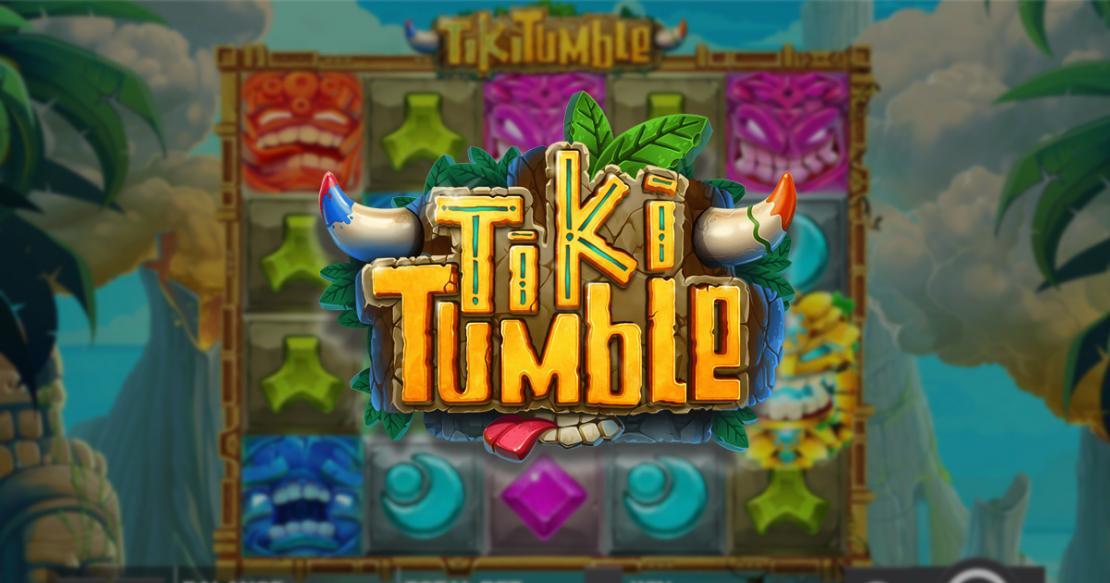Tiki Tumble slot from Push Gaming