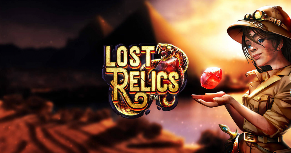 Lost Relics slot from Net Entertainment