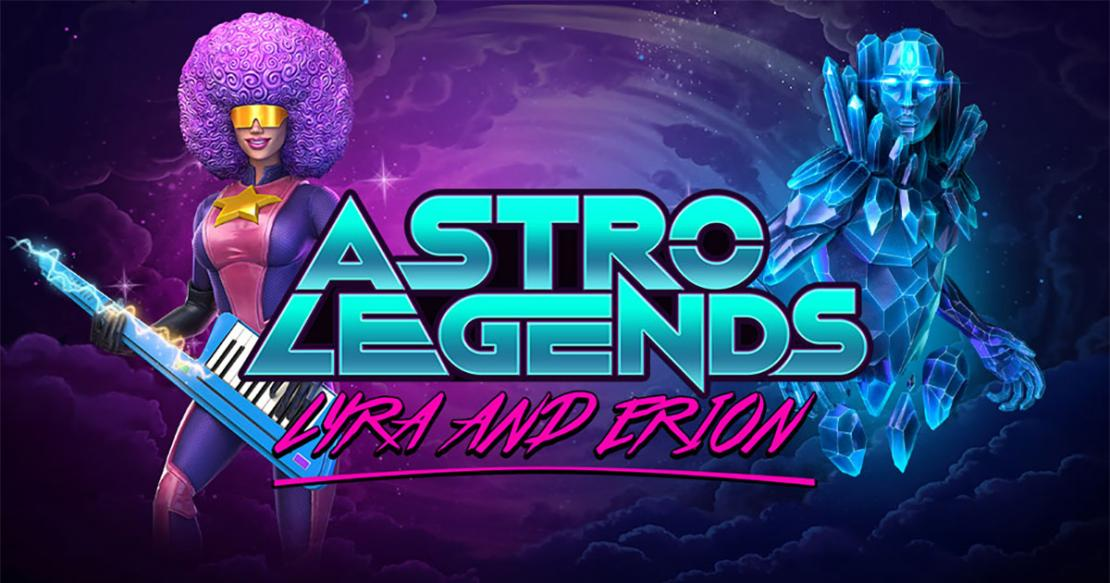 Astro Legends: Lyra and Erion slot from Foxium