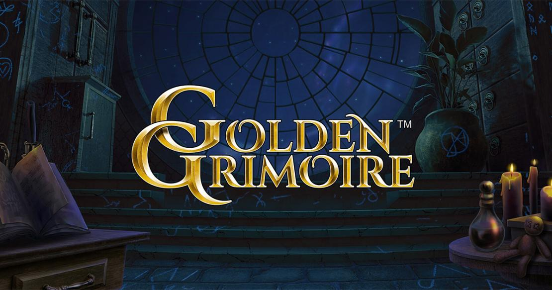 Golden Grimoire slot from NetEnt