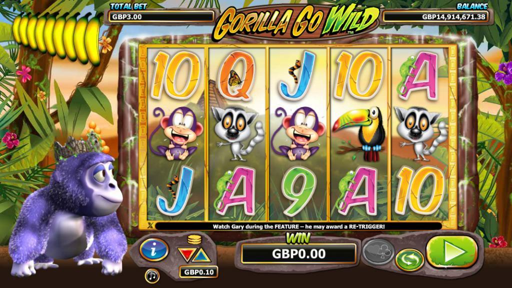 Gorilla Go Wild Slot - NextGen Gaming
