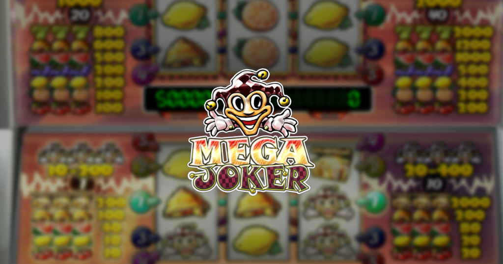 Mega Joker slot by Net Entertainment