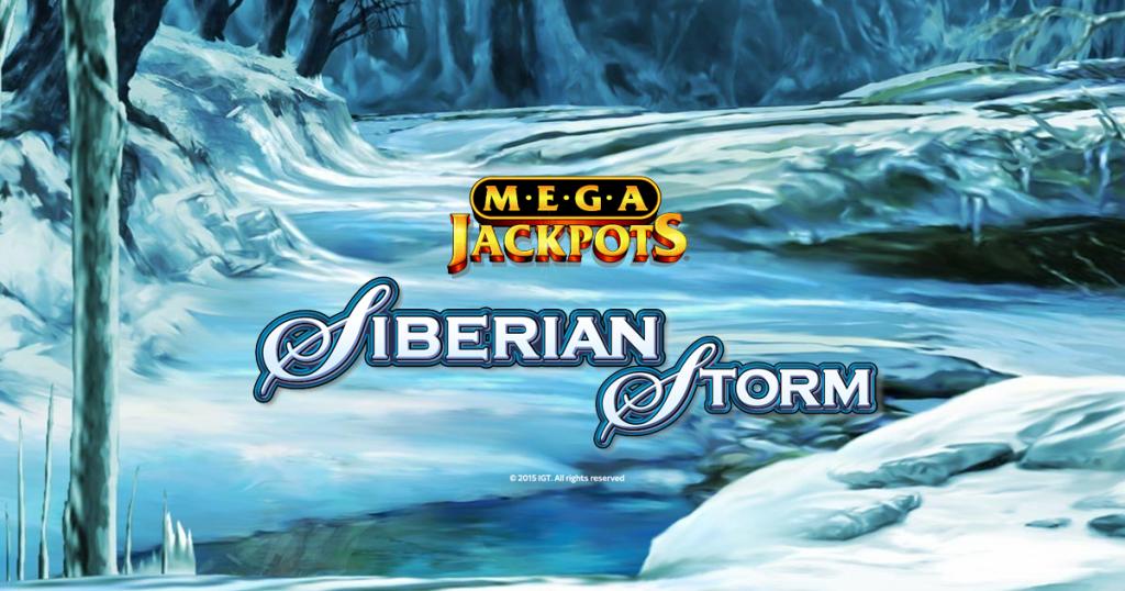 MegaJackpots Siberian Storm slot IGT