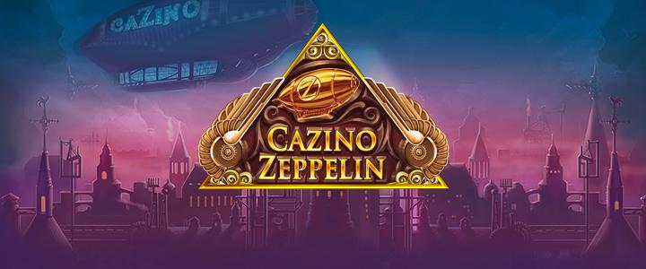 Cazino Zeppelin slot från Yggdrasil Gaming