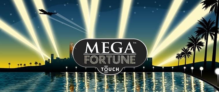 Mega Fortune Touch slot från NetEnt